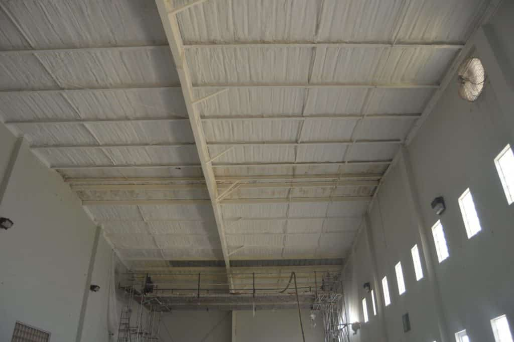 Industrial fireproofing technology